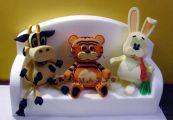 043 поролоновые игрушки для рекламы и дизайна